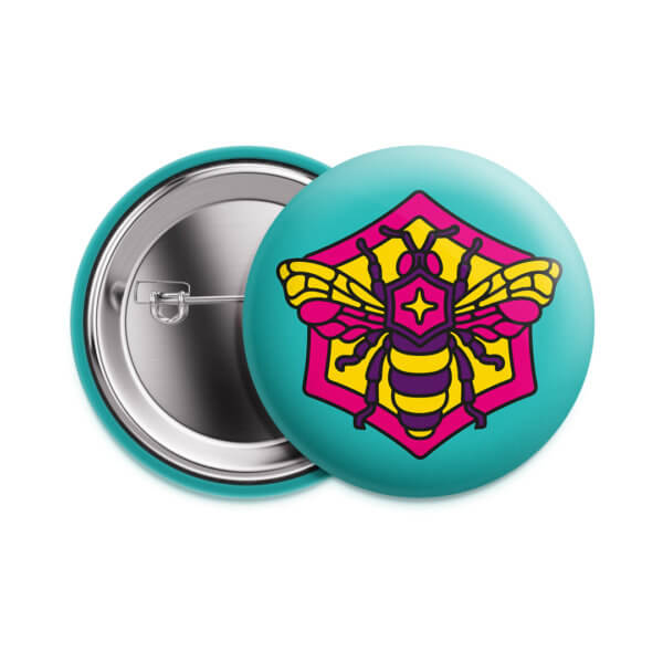 Значок «Пчела» 37 мм